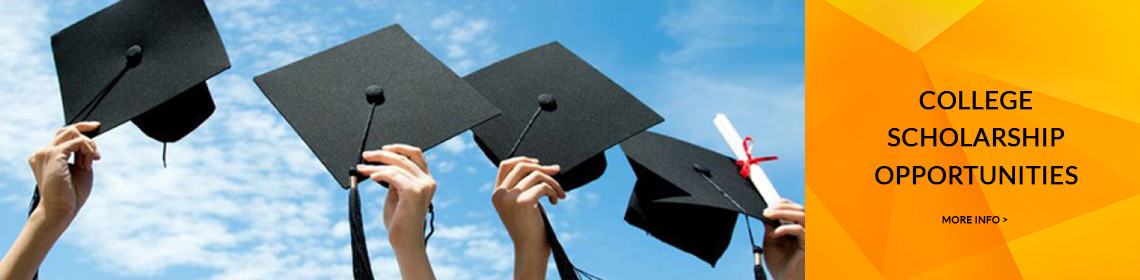 College Scholarship Opportunities. Click here for more info.